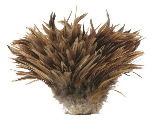 Zucker Feather Products Strung Natural Furnace Rooster Saddles, 4 to 6-Inch
