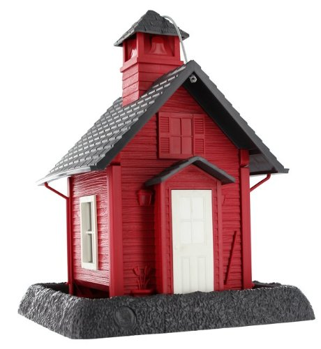 Cheap North States 9084 Lil' Red School House Village Collection Bird Feeder