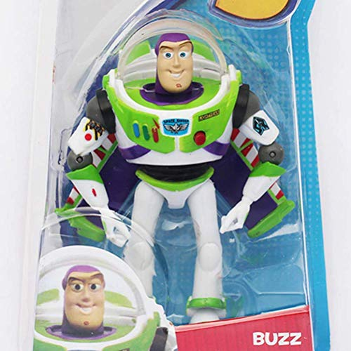 LQT Ltd Toy Story 3 Bu-zz Lightyear with Wings PVC Action Figure Kids Toys 15cm Approx with Box (Buzz Lightyear Wing Pack)