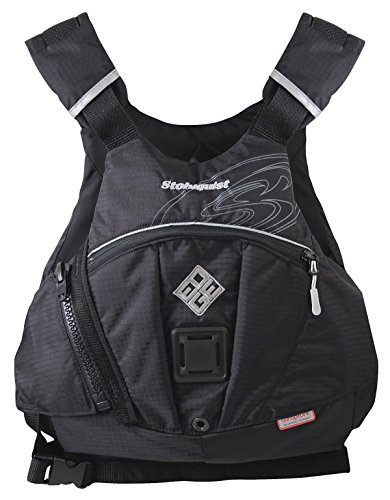 - Stohlquist Edge Kayak Lifejacket-Black-S/M