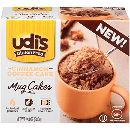 Udi's Gluten Free Cinnamon Coffee Mug Cake, 9.8 oz