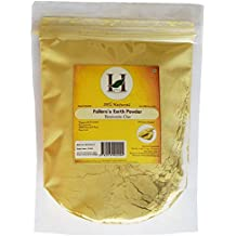 100% Pure Organically Processed Fuller's Earth Clay (Multani Mitti) Bentonite Clay- 1/2 LB - 227 gms - 8 oz