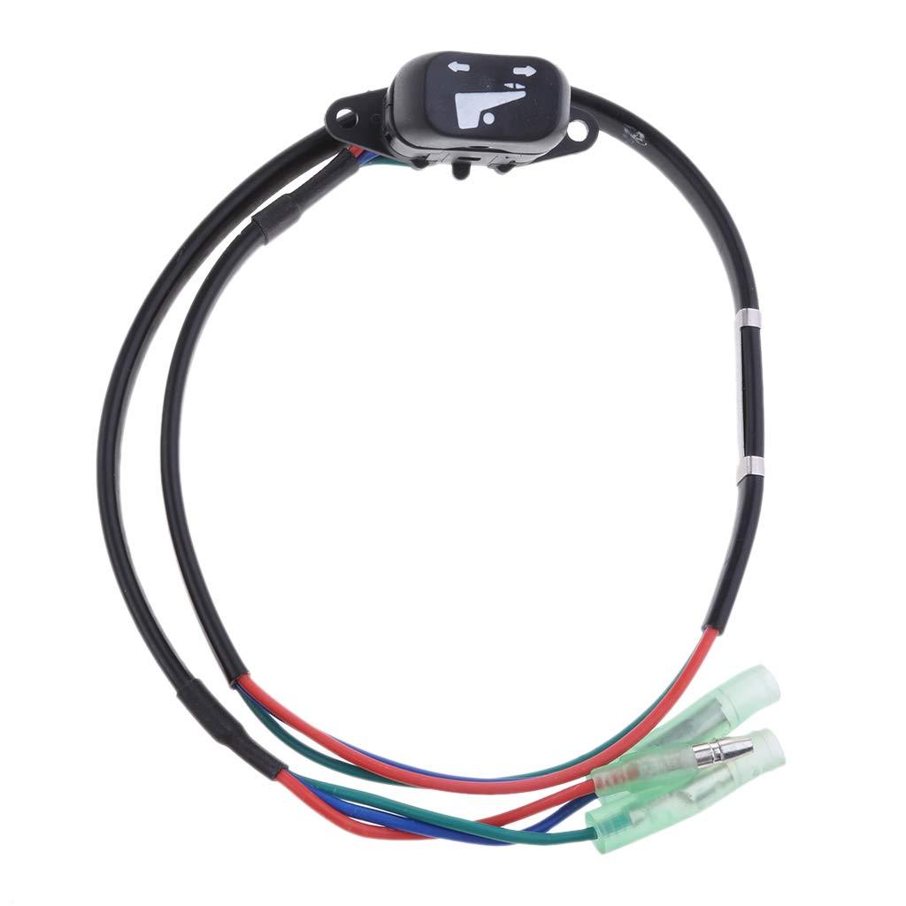 Shiwaki Interruptor De Inclinaci/ón Y Trimado De Potencia Fuera De Borda 37850-93j10 para Motores Fuera De Borda Suzuki
