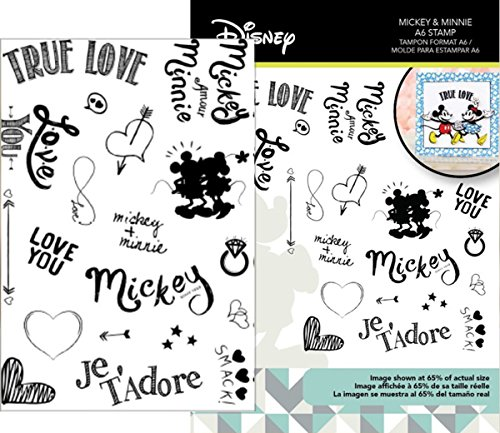 Disney Clear Stamps - Character World DUS2809 Stamps,
