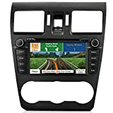 AIMTOM In-dash GPS Navigation Android Stereo Bluetooth DVD CD Deck 7″ Touch Screen AV Receiver FM AM Radio USB SD Multimedia Player Built-in Wi-Fi Head Unit for 2014 2015 2016 Subaru Forester Review