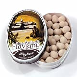 Abbaye de Flavigny Oval Traditional Tin Licorice Flavored Anise drops all natural, 1.8 oz, Six