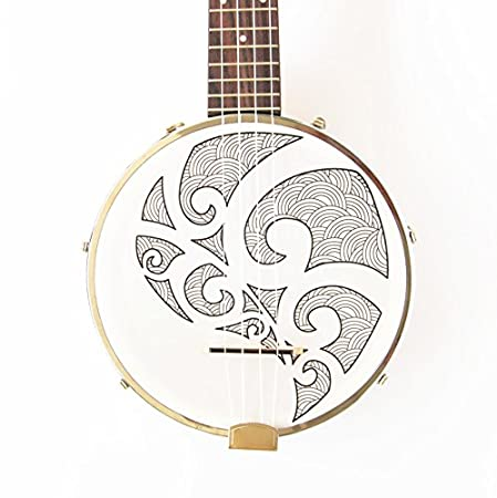 banjouke Sidekick Tenor Banjolele Ukelele, Banjo W/sintonizador de ...