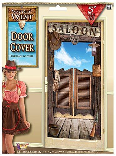 Forum Novelties Wild West Door Cover Decoration]()