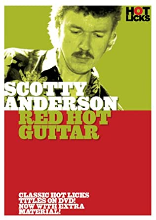 Amazon Scotty Anderson Red Hot Guitar Scotty Anderson Hot