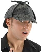 Sherlock Holmes Costume Deerstalker Hat For Adults -elope