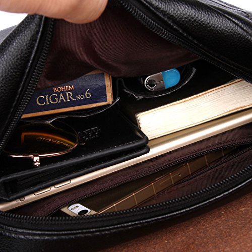 ... VICUNA POLO PU Leather Men Messenger Bag Cross Body Bag Shoulder Bag  For Men(large ... 823bf06b44