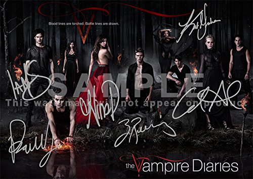 Vampire Diaries Show Print Somerhalder product image