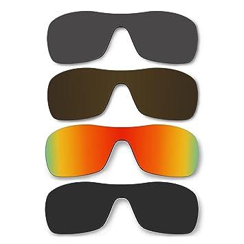 4 par de gafas de sol lentes polarizadas para Oakley Antix Pack de repuesto P37