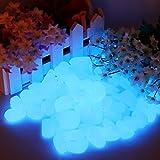 chic style 500Pcs Glow in The Dark Stones Garden