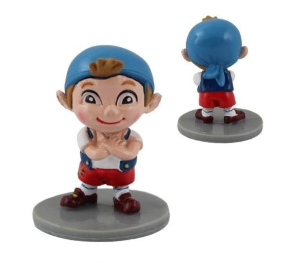 Jake Pirates Playset 7 Figure Cake Topper Toy Doll Set by  (Image #4)