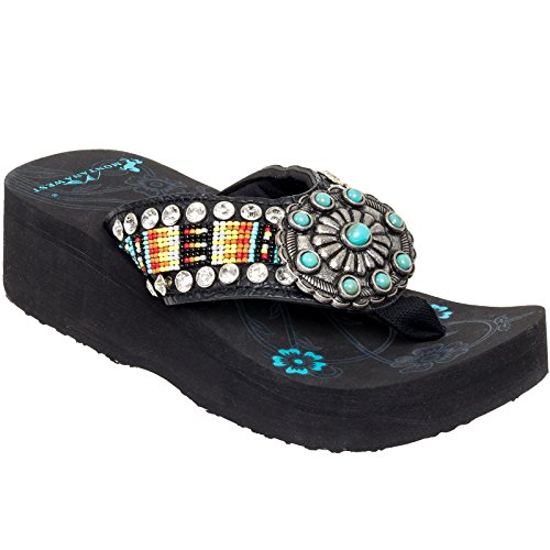 montana-west-aztec-hand-beaded-flip-flop-sandals-turquoise-black-yellow-8