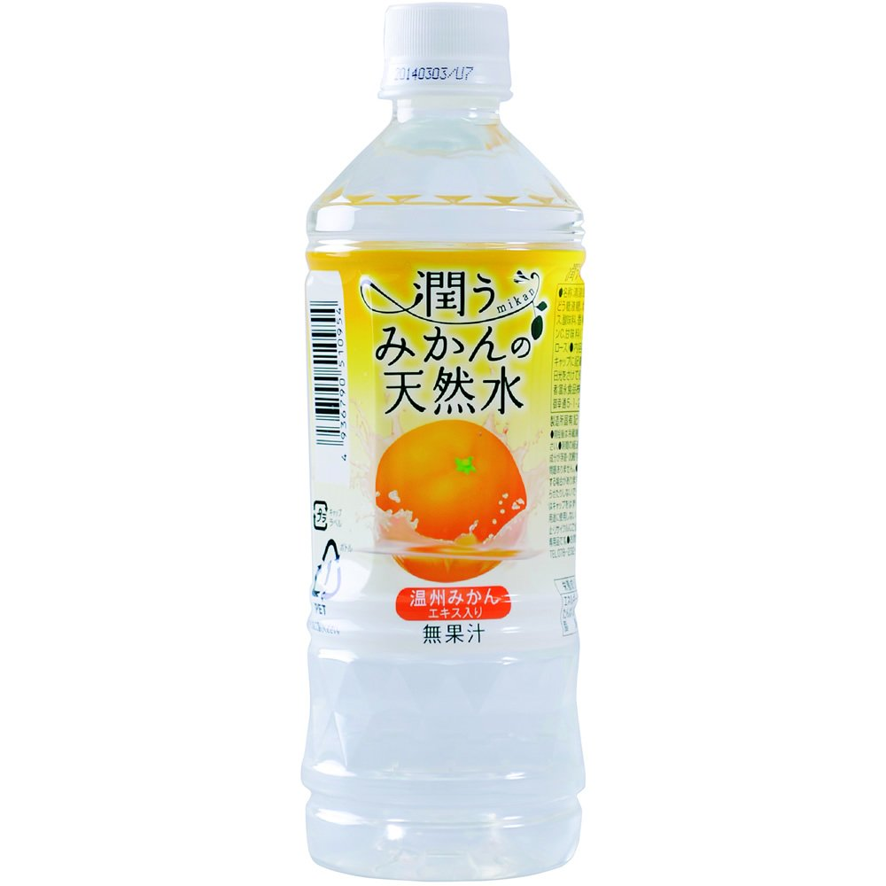 Natural water 500mlX24 pieces of Tominaga food watered oranges