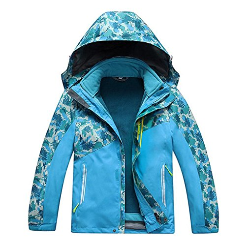 Pink Piece days Padded Children conjunto Men Jacket Two Winter blue L Detachable Schoffel's xd 7Xwqvv