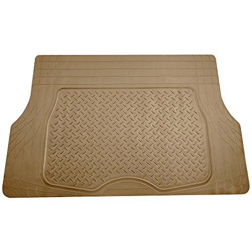 FH Group F16401BEIGE Tan Trimmable Cargo Mat/Trunk Liner (Premium Quality Trimmable Cargo Mat/Trunk Liner)