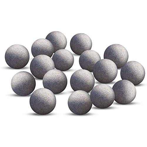 JOR Pleco Tourmaline Balls, 0.4 Inch, Calcium-Rich Balls, Make Fish Fins' Vivid and Vibrant, with Over 30 Beneficial Elements for Energized Fish, 10 Pieces