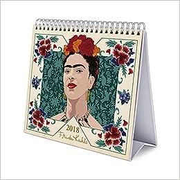 2018 Frida Kahlo Desk Easel Calendar: Erik Grupo ...