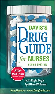 Davis's Drug Guide For Nurses (Without CD (0803614632)   Amazon Products
