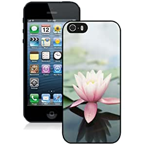 Fashion DIY Custom Designed iPhone 5s Generation Phone Case For Pink Lotus Flower Phone Case Cover