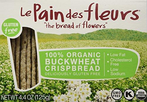 Le Pain Crispbread Buckwheat 4.41 oz (Pack of 6) by Le Pain des fleurs