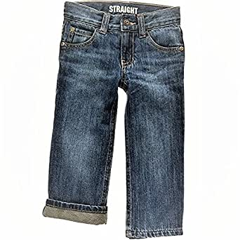 Gymboree Fleece-Lined Straight Jeans (6-12 Months)