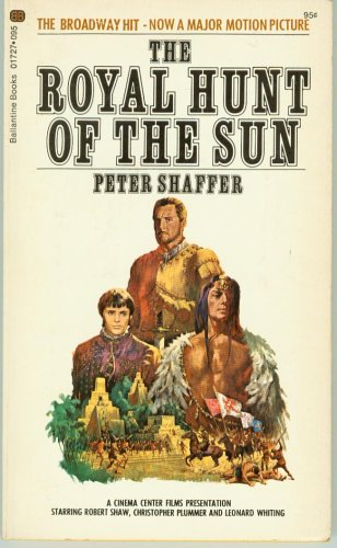 Image result for royal hunt of the sun book cover