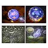 Star Night Light for kids, Universe Night Light Projection Lamp, Romantic Star Sea Birthday Christmas Projector Lamp for bedroom - 3 Sets of Film
