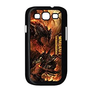 Samsung Galaxy S3 9300 Cell Phone Case Black World of Warcraft Q0298234