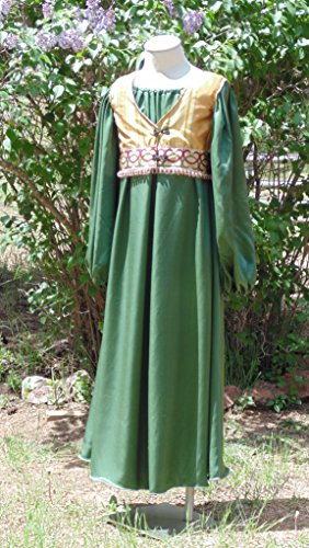 Girls 10 Teen Medieval or Renaissance - Costume Elf Wood
