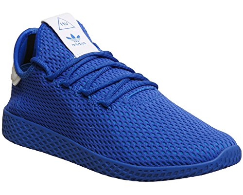 adidas Herren Pharrell Williams Tennis HU Sportschuh Blau Weiss