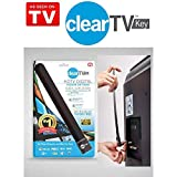New Clear TV Key HDTV Free TV Digital Indoor Antenna Ditch Cable As Seen on TV
