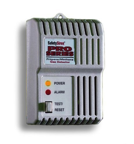 Family Safety Products 8910012 Safety Siren Combustible Gas (Propane Methane) Detector (Propane Battery compare prices)