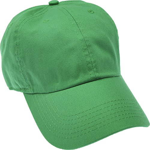 Hand By Hand Aprileo Solid Cotton Cap Washed Hat Polo Camo Baseball Ball Cap [25 Dark Green](One Size)