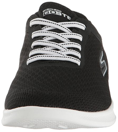 Femme Noir Lite Go blanc Baskets interstelllar Skechers Step XnZ7wYqXF