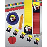 3000 sq ' Back To School Classroom Deluxe Crepe Kit