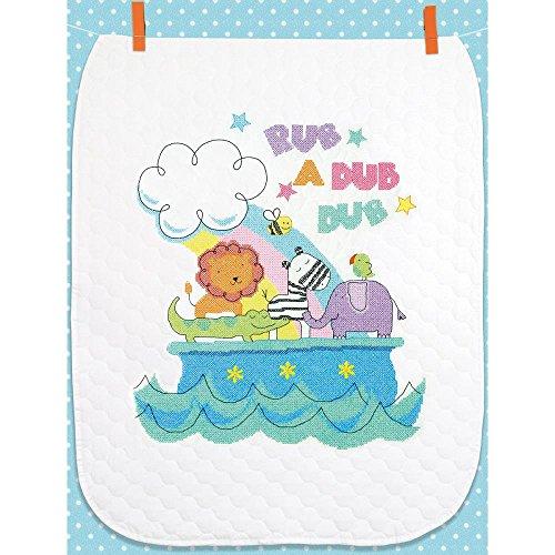 Rub-a-Dub Quilt Stamped Cross Stitch Kit