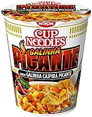 Cup Noodles Sabor Galinha Caipira Picante Nissin 68g
