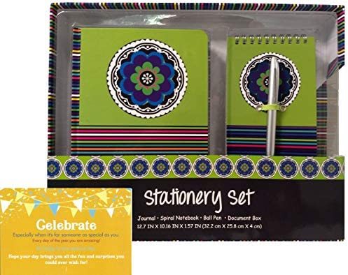 Amazon.com: Set de papelería de regalo de cumpleaños para ...