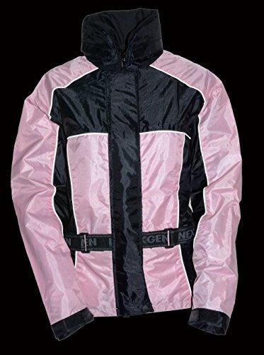 NexGen Women's Rain Suit (Black/Pink, XXX-Large)