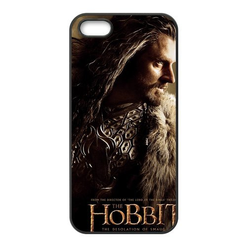 NEW ARRIVAL The Hobbits Design Durevole materiale silicone Rubber Case Cover for iPhone 5 5S