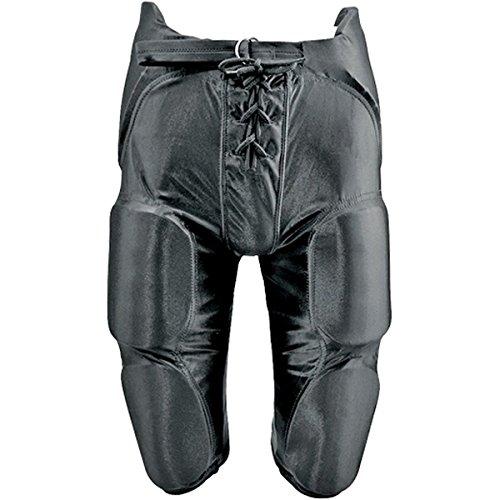 Pants Football Dazzle (MARTIN SPORTS INTEGRATED DAZZLE FOOTBALL PANTS-YOUTH-BLACK-XL)
