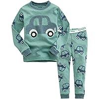 Vaenait baby 12M-7T Kids Baby Boys 100% Cotton Sleepwear Pajama Set Boys Collection