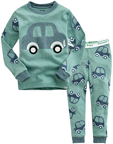 3t Baby Gap - Vaenait baby 12M-7T Kids Boys Sleepwear Pajama 2pcs Set,D-mini Car,Medium / 3T