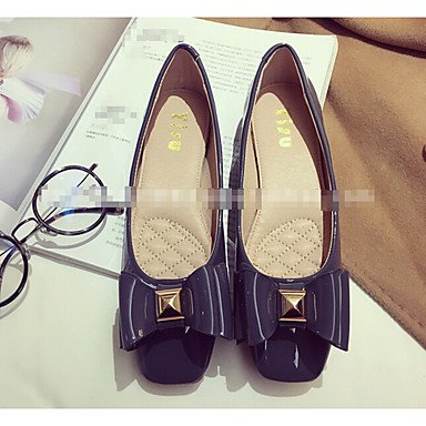 Cómodo y elegante soporte de zapatos de tacón para mujer otros piel sintética al aire libre negro verde gris burdeos azul