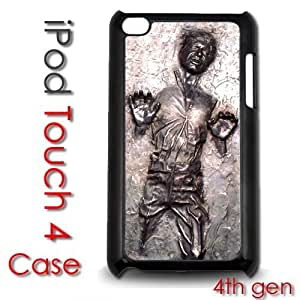 IPod Touch 4 4th gen Touch Plastic Case - Han Solo Frozen Carbonite Kimberly Kurzendoerfer