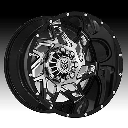 Dropstars 652BV 20x9 6x135/6x139.7 +18mm PVD/Black Wheel Rim
